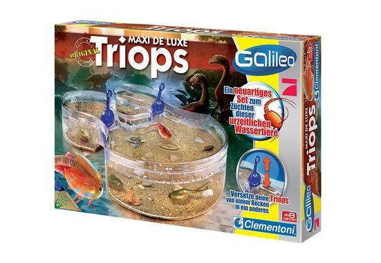 Clementoni® Experimentierkasten »Galileo Triops Maxi de Luxe«