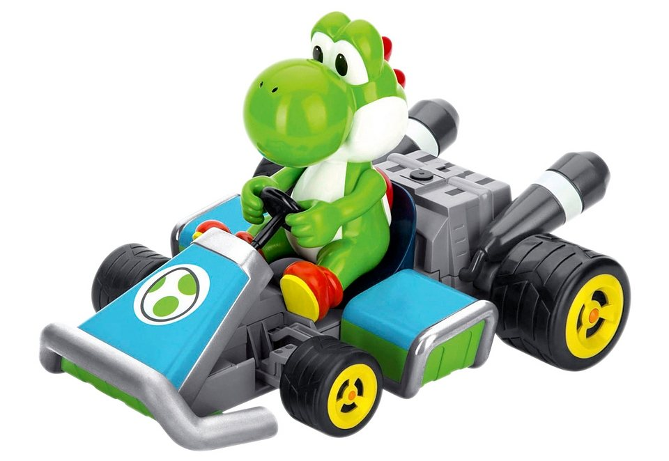 Carrera® RC-Komplett-Set, Carrera®RC, »Mario Kart™ 7 - Yoshi« in türkis-grün-grau-schwarz