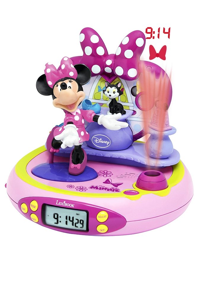 Projektionswecker, Lexibook, »Minnie Mouse«