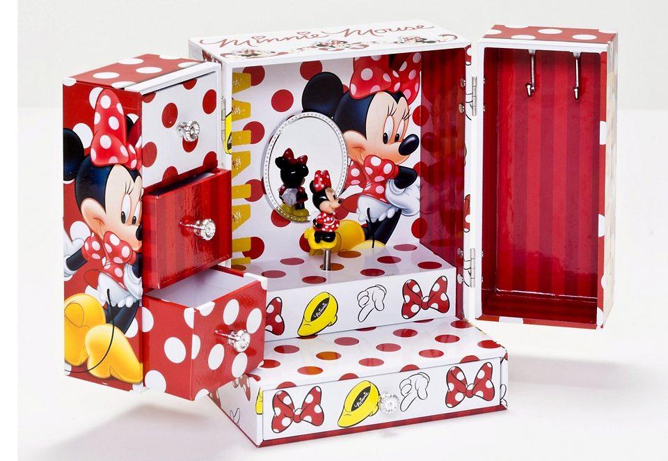 JOY TOY Aufklappbares Schmuckkästchen mit Spieluhr »Minnie Mouse«