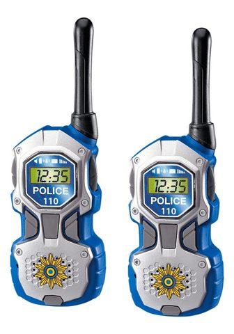 DICKIE TOYS Walkie Talkie »Polizei« (Rinkinys 2-tl...