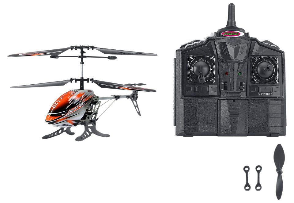 JAMARA, RC-Helikopter-Set, »Rusher Heli«