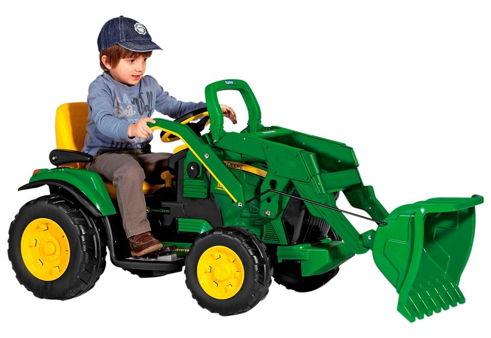 Peg-Pérego Elektrofahrzeug für Kinder »John Deere – Ground Loader – 12 Volt«