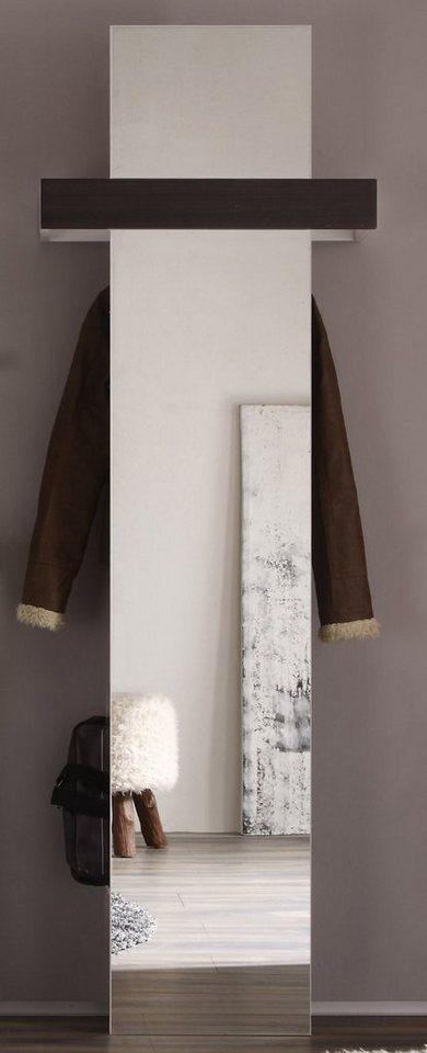 Wandpaneel »MEZZO« in weiß-schokofarben