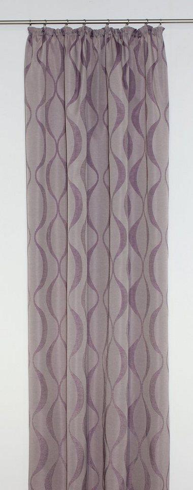 Vorhang, Wirth, »Varallo« (1 Stück) in lila