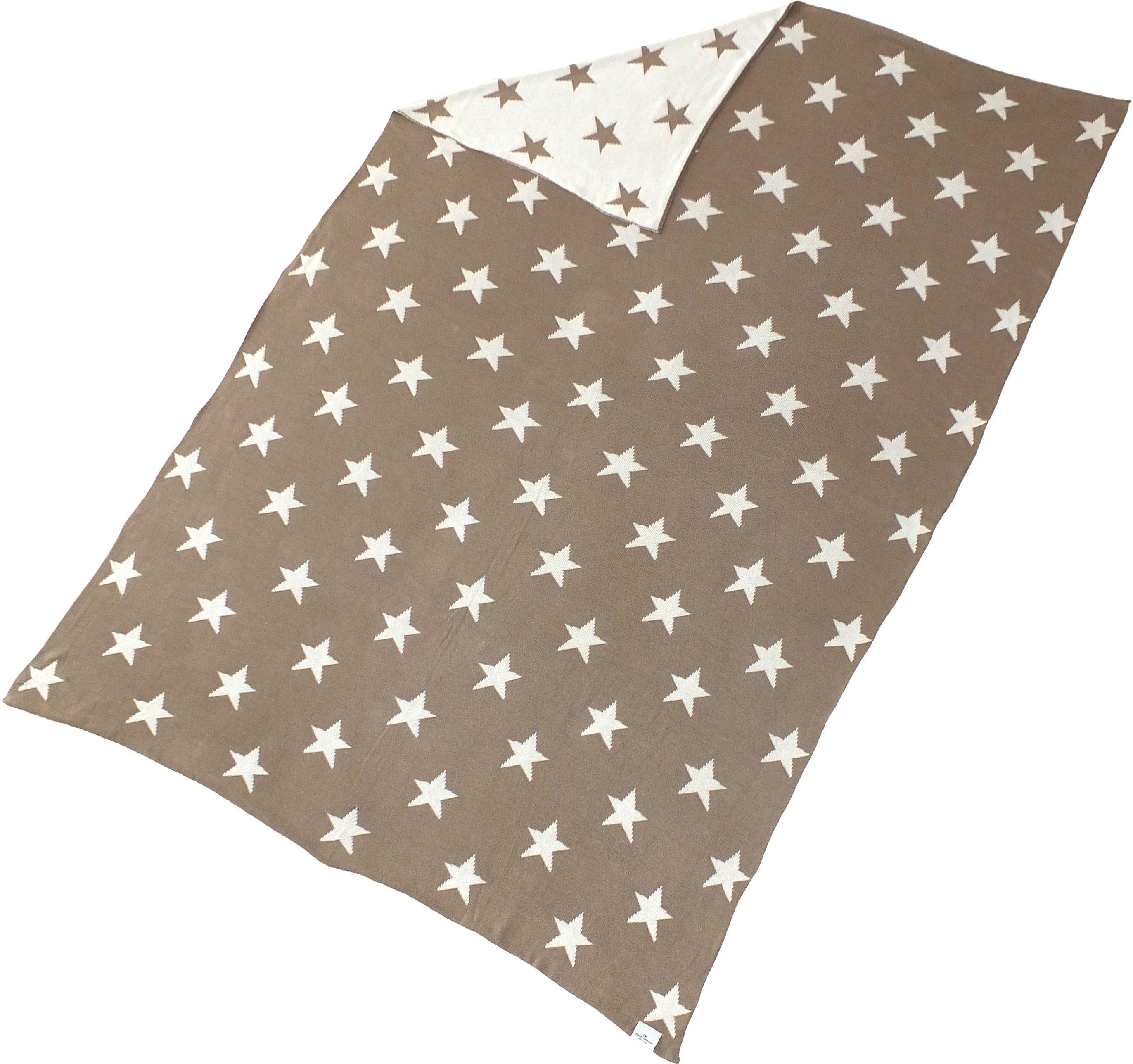 Wohndecke, Tom Tailor, »Little Star«, mit kleinen Sternen