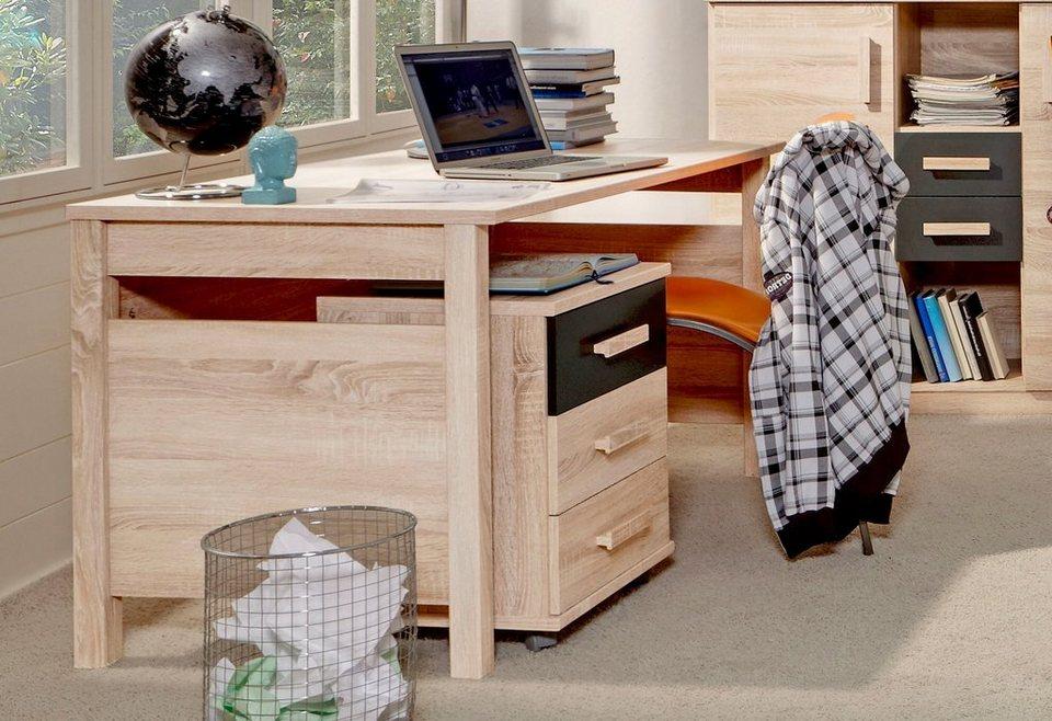 Wimex Schreibtisch in struktur-eichefb. hell uni