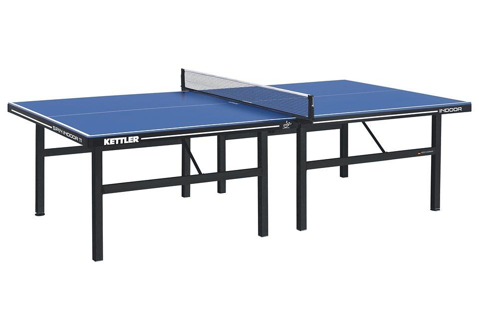 TT-Tisch, Kettler, »Spin Indoor 11«, Made in Germany in blau-schwarz