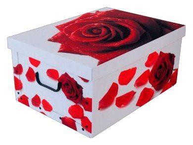 Kreher Aufbewahrungsbox »Rose Rot«