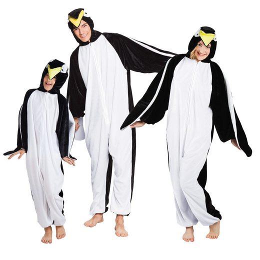 Boland Kostüm »Pinguin Plüsch Kostüm bis 166 cm - Pinguin Partner Verkleidung«