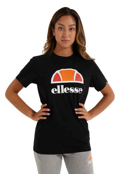 Ellesse T-Shirt »Ellesse Damen T-Shirt ARIETH TEE Black Schwarz«