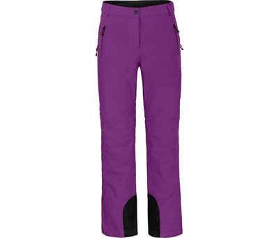 Bergson Skihose »ICE« Damen Skihose, wattiert, 20000 mm Wassersäule, Kurzgrößen, violett