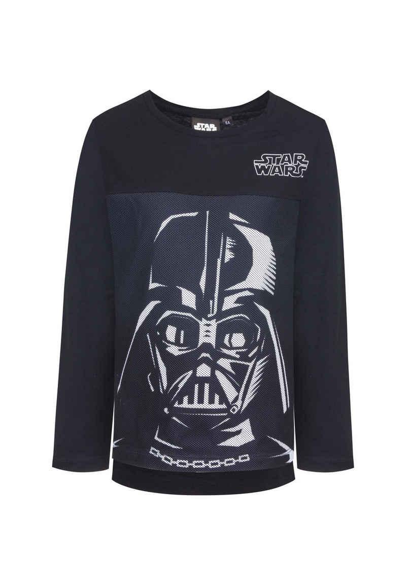 Star Wars Langarmshirt »Darth Vader Stormtrooper Kinder Jungen Longsleeve«