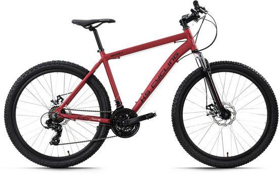 KS Cycling Mountainbike »CCL303«, 21 Gang Shimano Tourney Schaltwerk, Kettenschaltung