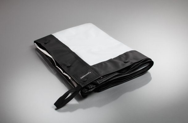 Celexon Leinwände »Tuch für Faltrahmen Mobil Expert - 366 x 206 cm«