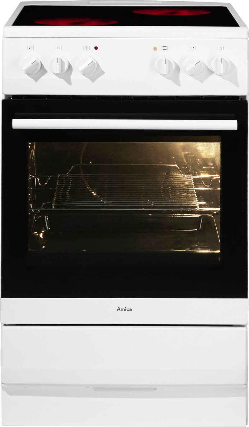 Amica Elektro-Standherd SHC 11505 W / SHC 11595 E, Steam Clean, SHC 11595 E