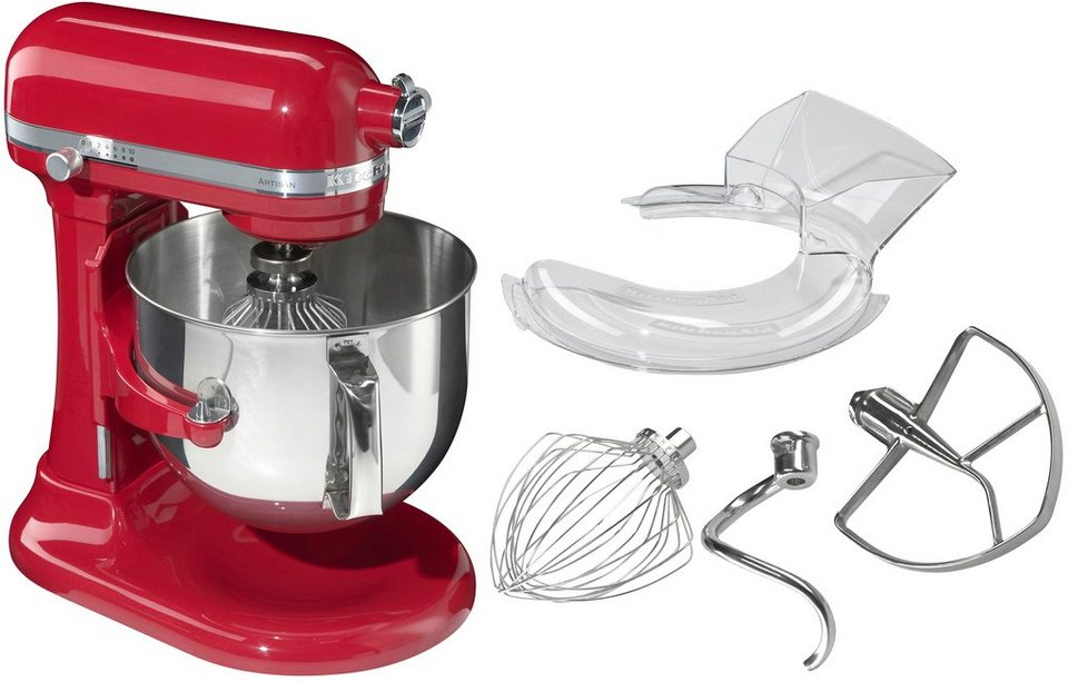 KitchenAid® Artisan Küchenmaschine 5KSM7580XEER in empire rot