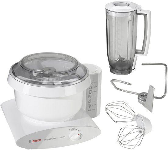BOSCH Küchenmaschine Universal Plus MUM6 N11, 800 W, 6,2 l Schüssel, 6,2 Liter Rührschüssel