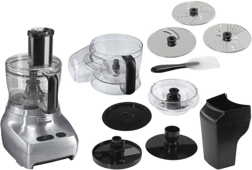 Gastroback Design Food Processor Advanced 40965 Kompakt-Küchenmaschine , 1100 Watt