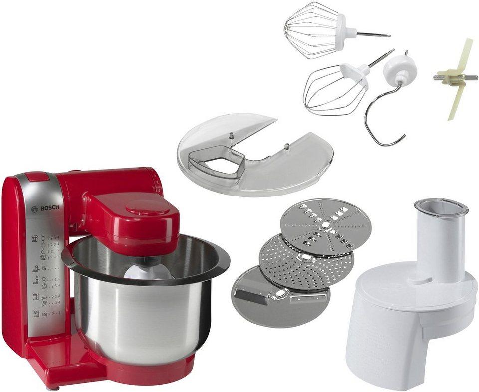 Bosch Kuchenmaschine Mum48r1 600 W 2 7 L Schussel Online Kaufen Otto