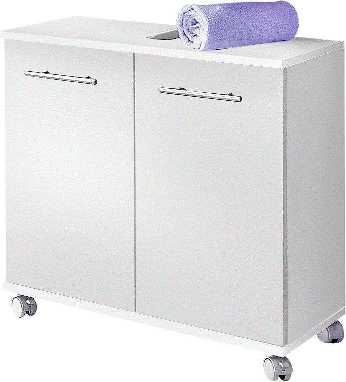 Waschbeckenunterschrank »Rhodos«, Schildmeyer in weiß-weiß