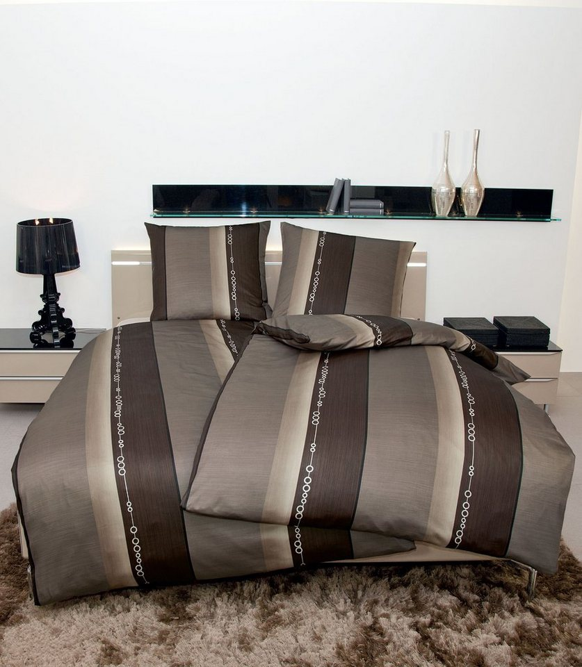 bettw sche janine strukturstreifen mit edlem glanz online kaufen otto. Black Bedroom Furniture Sets. Home Design Ideas
