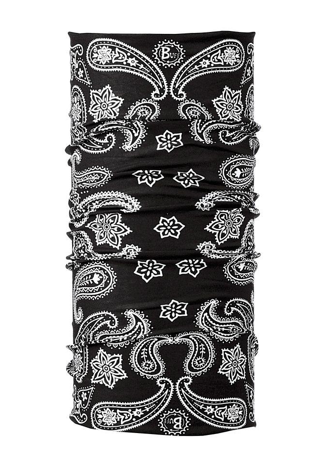 Multifunktionstuch, BUFF, »Original Buff®«, als Halstuch oder Kopftuch in schwarz gemustert