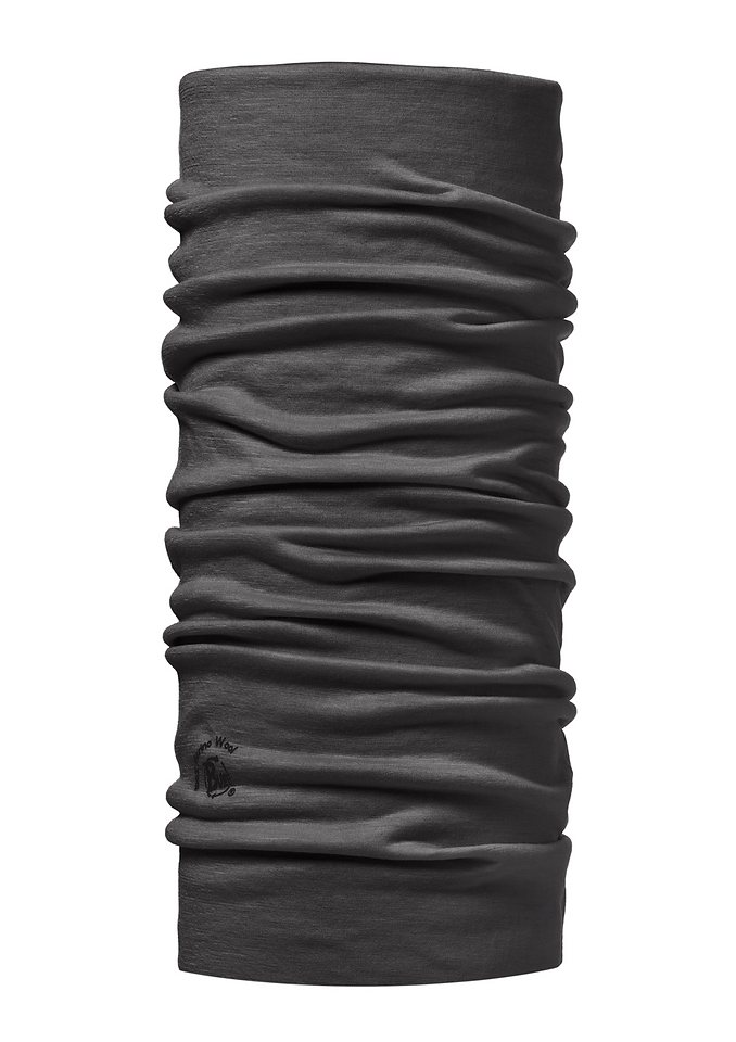 Multifunktionstuch, BUFF, »Schurwolle Buff®«, als Halstuch oder Kopftuch in grau