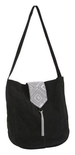 Tasche mit Perlenstickerei