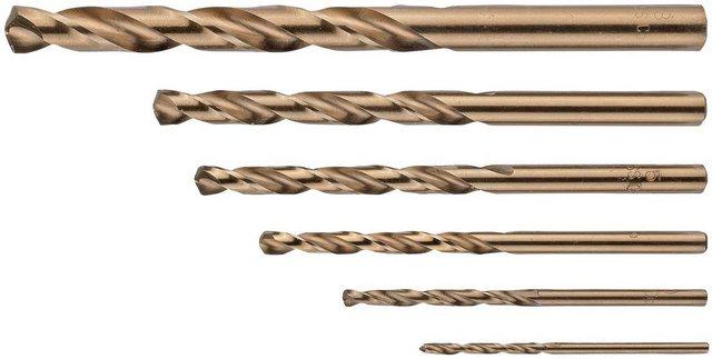 CONNEX Spiralbohrer-Satz 6-tlg. Satz, HSS CO | Baumarkt > Werkzeug > Bohrer und Schrauber | Connex
