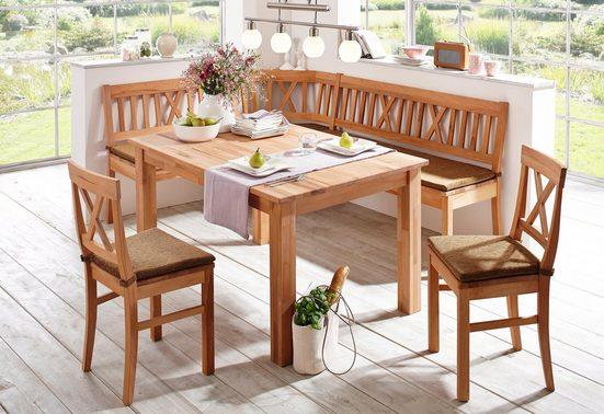 Premium collection by Home affaire 4-Fußstuhl »Lukas« (Set, 2 Stück)