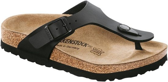Birkenstock »Gizeh Kids BF Black« Sandalette