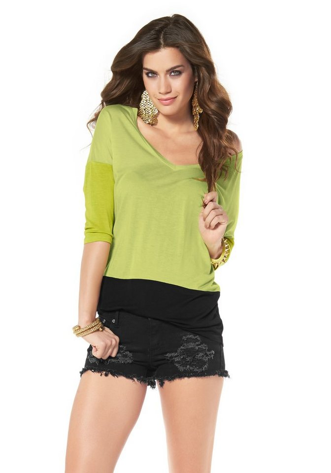 Laura Scott T-Shirt in Limette