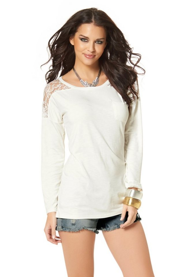 Laura Scott Longsleeve in Creme