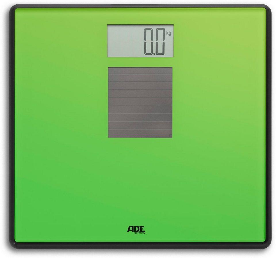 Solar-Personenwaage, ADE, »CamilleBE 1111« in grün