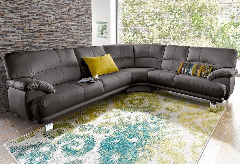 ecksofa mit langem schenkel frei im raum stellbar online kaufen otto. Black Bedroom Furniture Sets. Home Design Ideas
