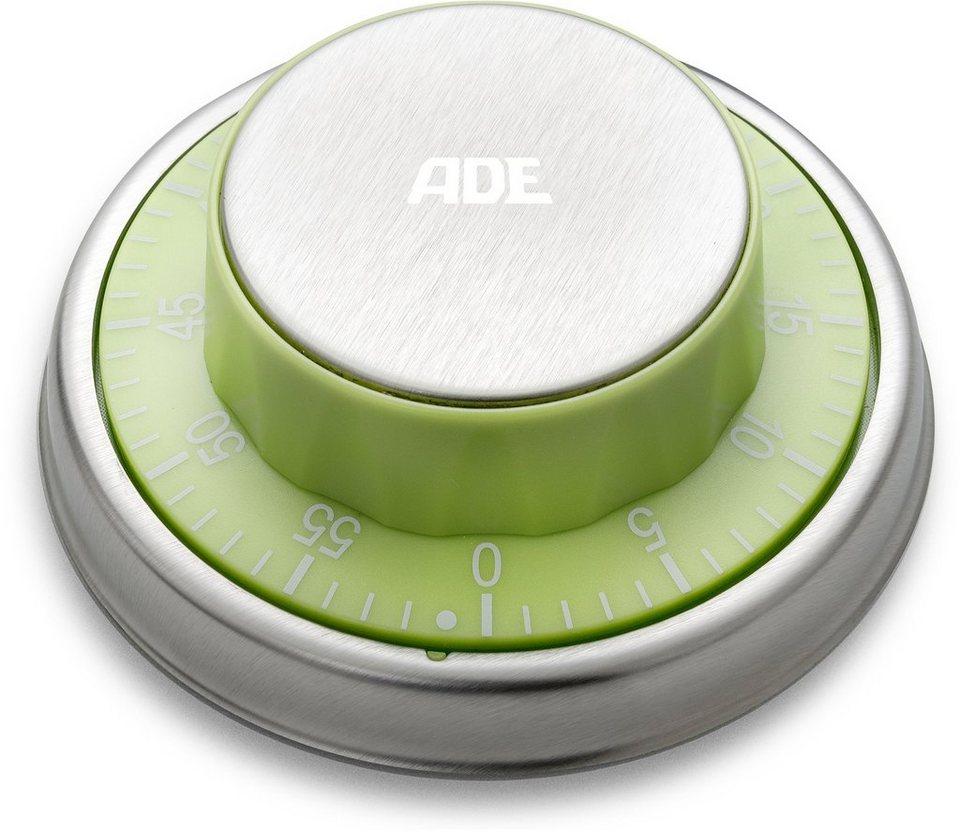 ADE Mechanischer Küchentimer TD 1304/1305 in grün