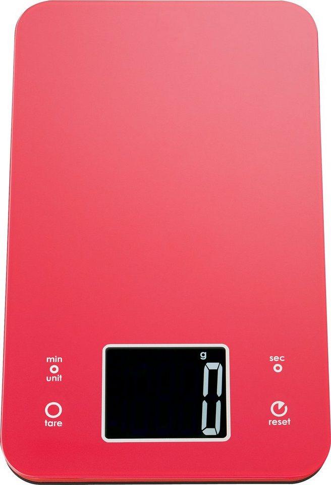 ADE Digitale Küchenwaage KE 1210/1211/1212/1213 Mia in rot