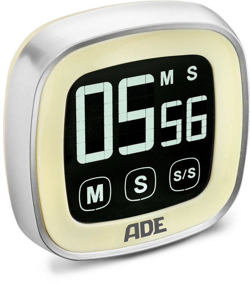 ADE Digitaler Küchentimer TD 1300/1301/1302 in vanille