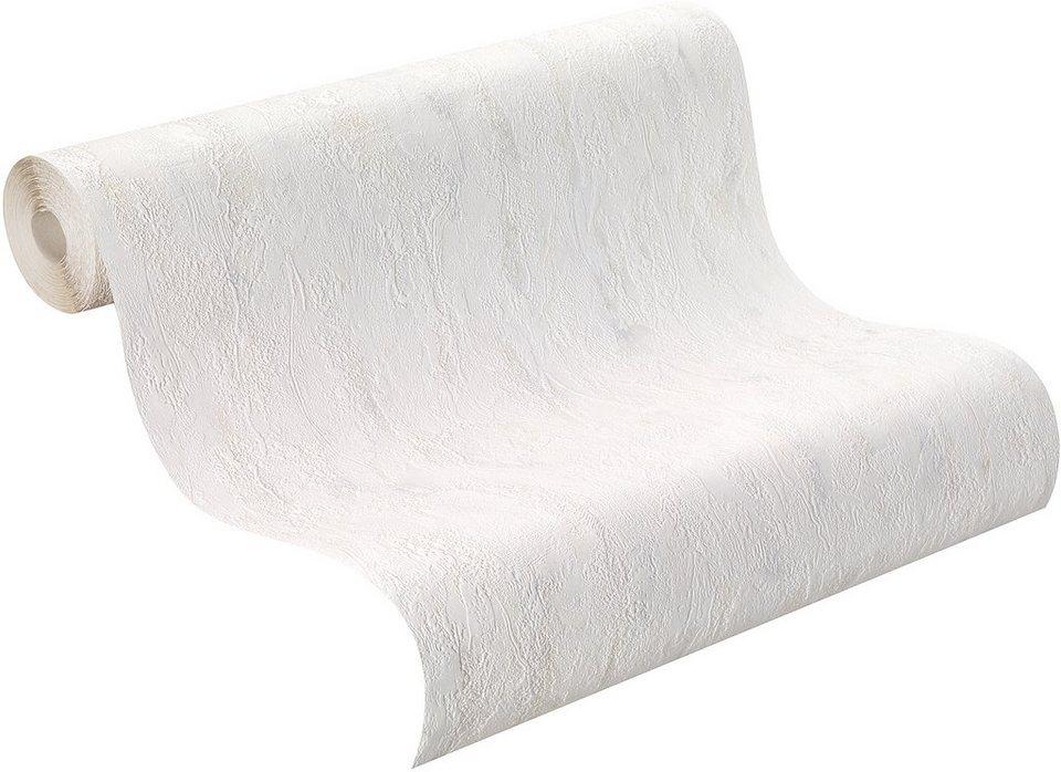 Vliestapete, Rasch , »Original« in weiß