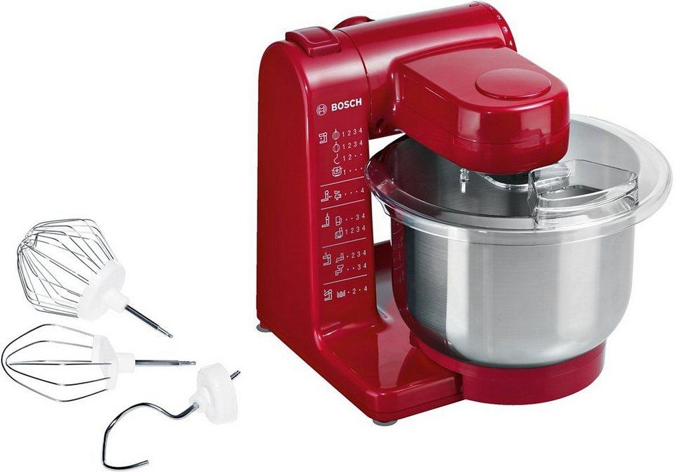 Bosch Kuchenmaschine Mum44r1 500 W 3 9 L Schussel Online Kaufen Otto