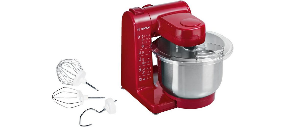 Bosch Küchenmaschine »MUM44R1«, 4 Stufen, 500 Watt