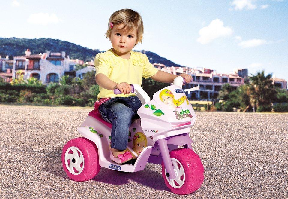 Peg-Pérego Elektrofahrzeug für Kinder Dreirad »Mini Princess - 6 Volt« in rosa