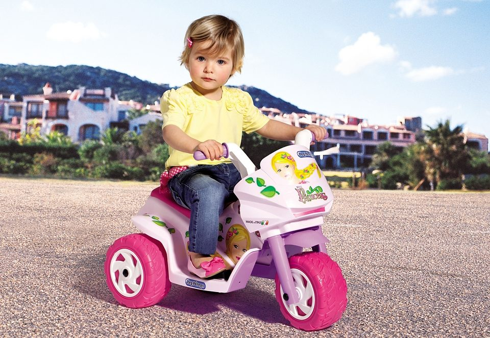 Peg-Pérego Elektrofahrzeug für Kinder Dreirad »Mini Princess - 6 Volt«