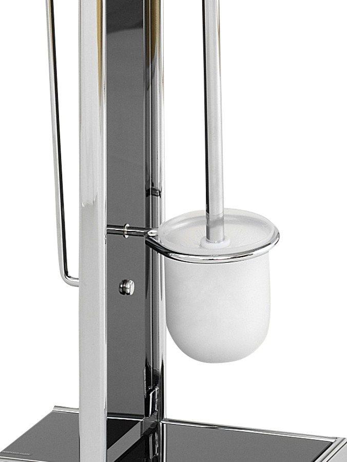 WC-Ständer in schwarz