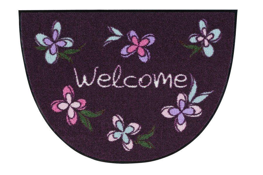 Fußmatte in lila