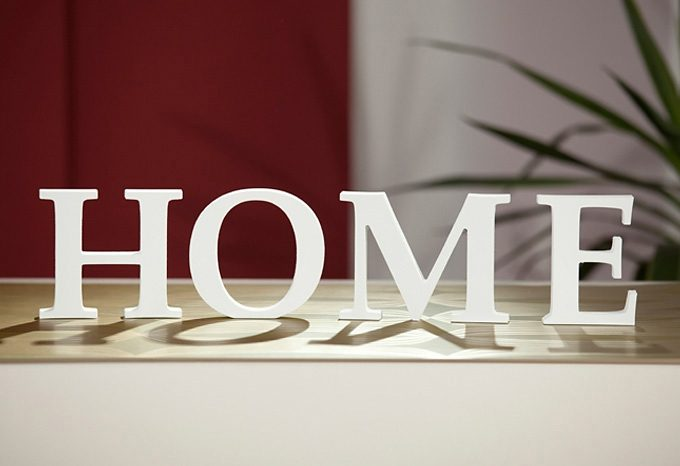 Dekobuchstaben, Home affaire, »3D Home «