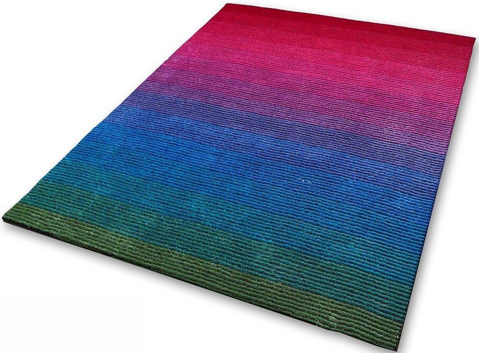 Teppich, Kinzler, »Colorado«, handgearbeitet in bunt