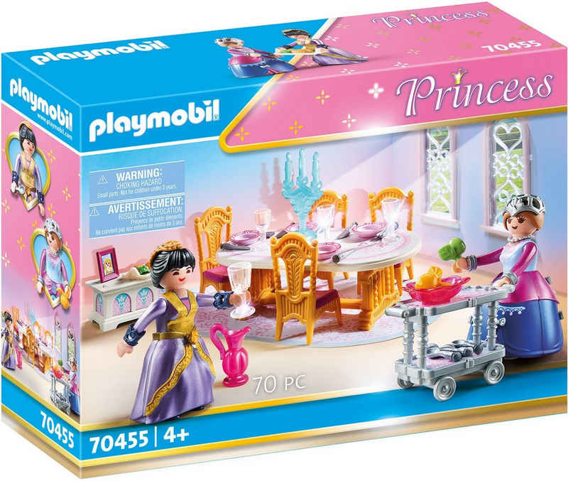 Playmobil® Konstruktions-Spielset »Speisesaal (70455), Princess«, (70 St), Made in Germany