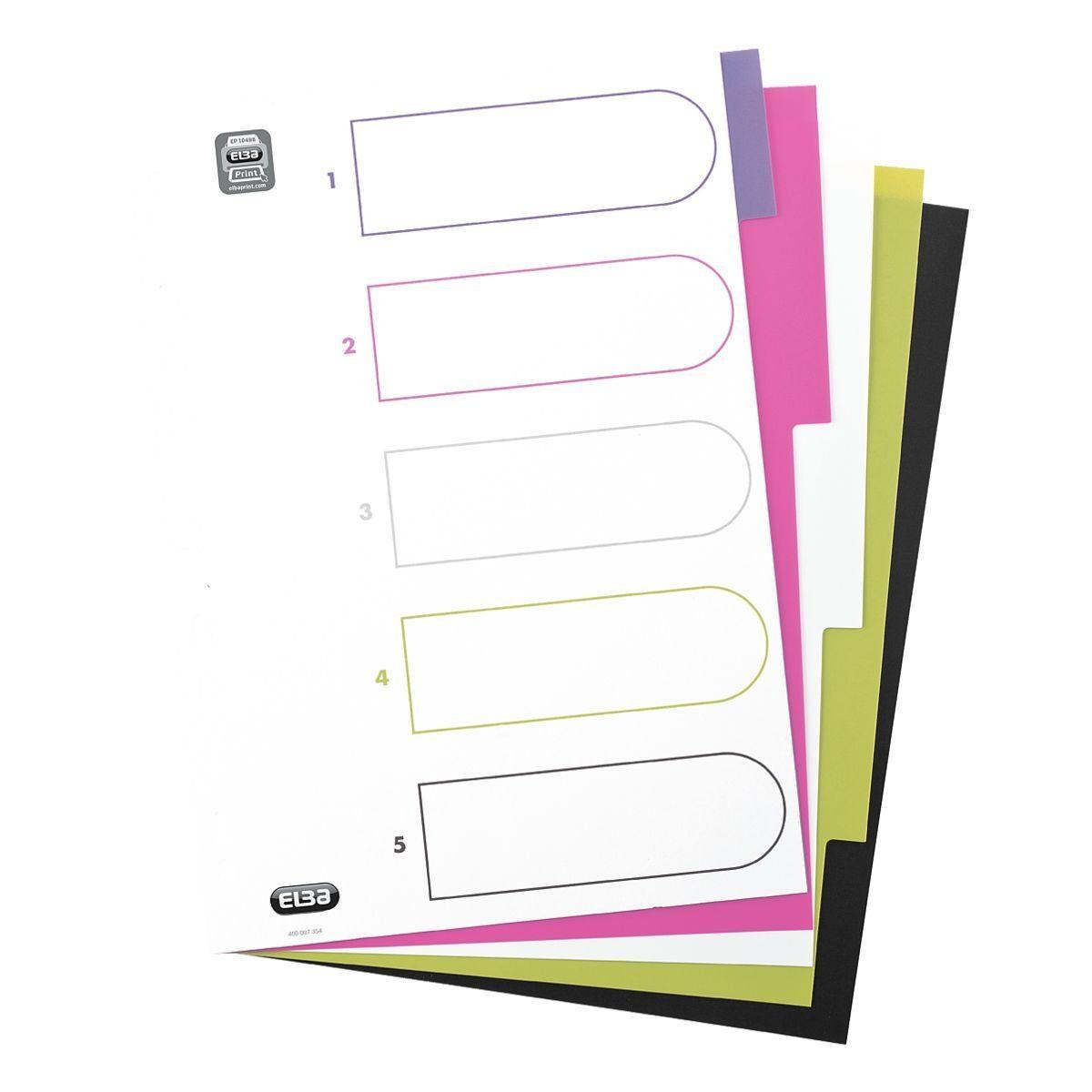 Elba Kunststoffregister »MyColour«